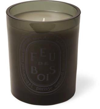 Diptyque Grey Feu De Bois Scented Candle, 300g