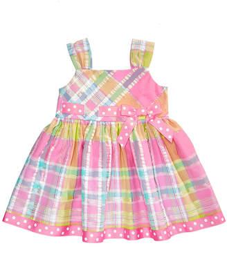 Bonnie Baby Plaid Sundress, Baby Girls