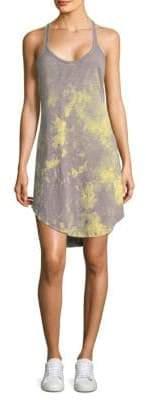 ATM Anthony Thomas Melillo Tie-Dye Trapeze Tank Dress