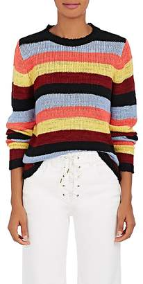 The Elder Statesman Women's Picasso Striped Cashmere Sweater