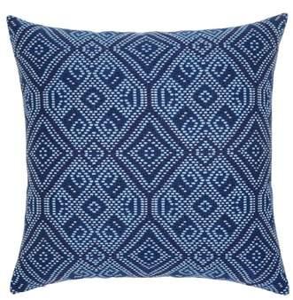 Midnight Tile Indoor/Outdoor Accent Pillow