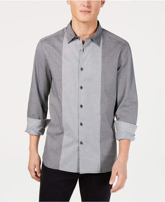Kenneth Cole New York Men Mini-Check Shirt