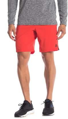 Reebok Contrast Drawstring Athletic Shorts