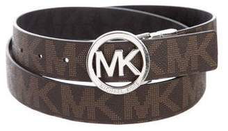 MICHAEL Michael Kors Monogram Logo Belt
