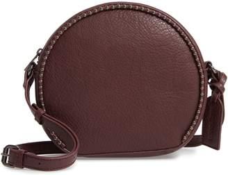 Sole Society Eytal Studded Circle Faux Leather Crossbody Bag