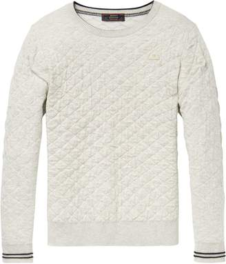 Scotch & Soda Quilted Sweater