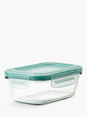 OXO Good Grips SNAP Glass Storage Container, Clear, 400ml