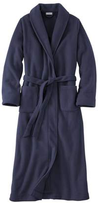 L.L. Bean L.L.Bean Winter Fleece Robe, Wrap-Front