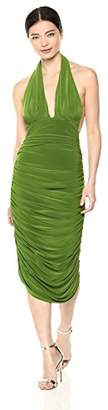 Norma Kamali Women's Halter Dress