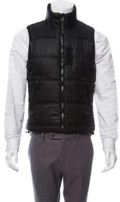 G Star Zip-Up Puffer Vest