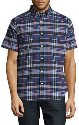 Nautica Plaid Cotton Sportshirt