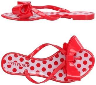 MonnaLisa BEACH Toe strap sandals