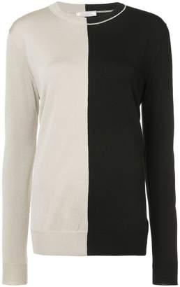 Nina Ricci colour block sweater