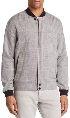 J Brand Oliver Plaid Bomber Jacket