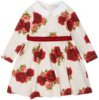 MonnaLisa Rose A-Line Dress