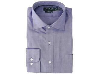 Lauren Ralph Lauren Classic Fit No-Iron Herringbone Dress Shirt