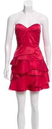 Temperley London Strapless Cocktail Dress