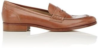 Barneys New York Women's Penny Loafers-BROWN $275 thestylecure.com