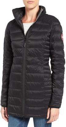 Women's Canada Goose 'Brookvale' Hooded Quilted Down Coat $550 thestylecure.com