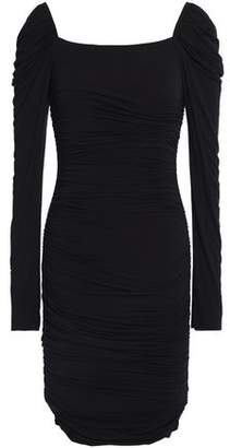 Bailey 44 Ruched Stretch-Modal Jersey Mini Dress