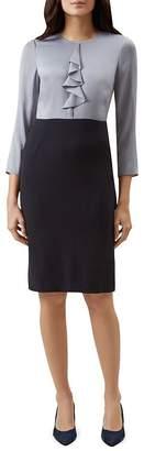 Hobbs London Dania Color-Block Sheath Dress