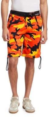 Valentino Camouflage Classic Shorts