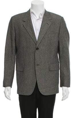 Our Legacy Silk Notched-Lapel Blazer