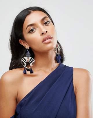 Asos Statement Chandelier Jewel Earrings