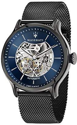 Epoca MASERATI Men's 'Epoca' Quartz Stainless-Steel-Plated Casual Watch