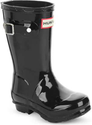 Hunter kids gloss wellington boots 3-6 years