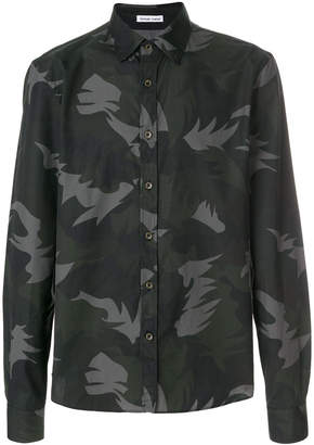 Tomas Maier abstract print shirt