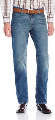 Wrangler Men's 20X Cool Vantage Competition Slim Fit Storm Blue Jean 42x34