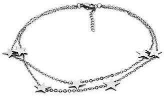 STEELX Stainless Steel Star Charm Anklet