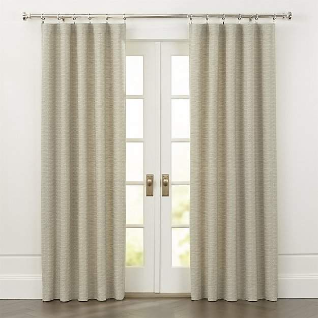 Desmond Natural Cotton Curtains