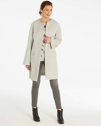 Fashion World Wool Blend Drop Shoulder Coat
