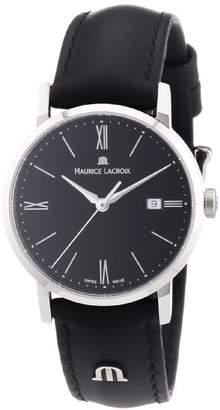 Maurice Lacroix Women's Quartz Watch Eliros EL1084-SS001-310 with Leather Strap