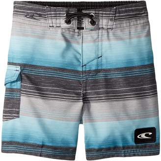 O'Neill Kids Santa Cruz Stripe Boardshorts Boy's Swimwear