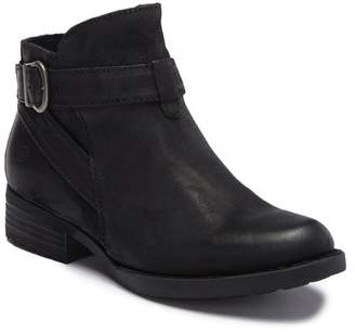 Børn Jorgette Leather Buckle Strap Bootie