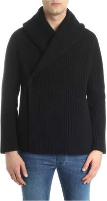 Roberto Collina Ribbed Wrap Cardigan