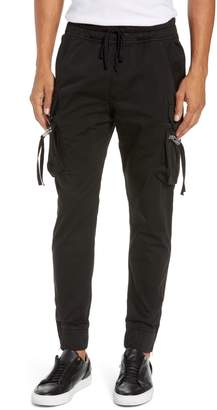 The Kooples Classic Wool Cargo Track Pants