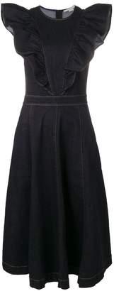 Stella McCartney denim midi dress