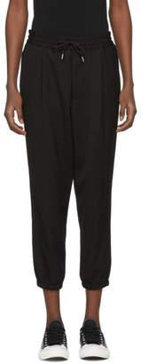 McQ Black Tailored Track Pants