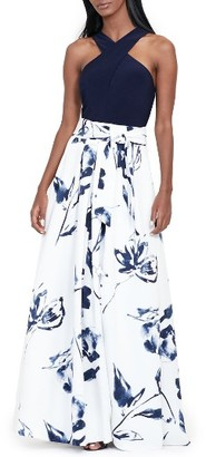 Women's Lauren Ralph Lauren Fit & Flare Gown $290 thestylecure.com