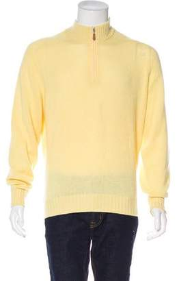 Brunello Cucinelli Cashmere Mock Neck Sweater