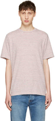 Paul Smith Pink Small Stripe T-Shirt