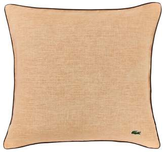 Lacoste Iced Apricot Linen Pillow - 18X18