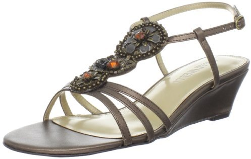 A. Marinelli Women's Middle Wedge Sandal