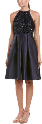 Carmen Marc Valvo A-Line Dress