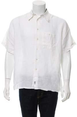 Burberry Short Sleeve Linen Shirt