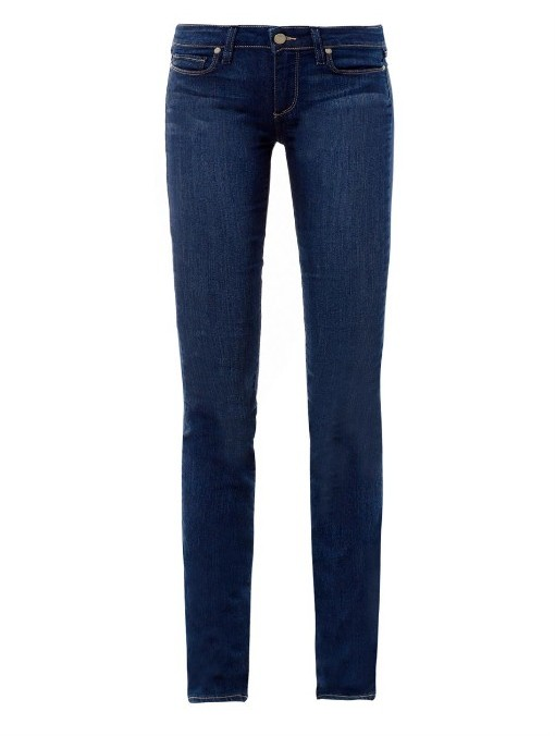 Paige Denim Skyline mid-rise straight jeans